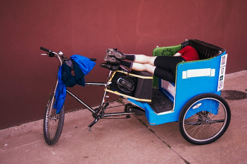 Illustration for article titled Throwback Thursday: Yes, You Can Sleep in a Pedicab