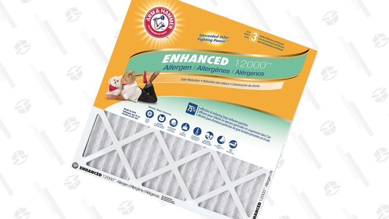 4-Pack Arm & Hammer Air Filters | $20 | Home Depot