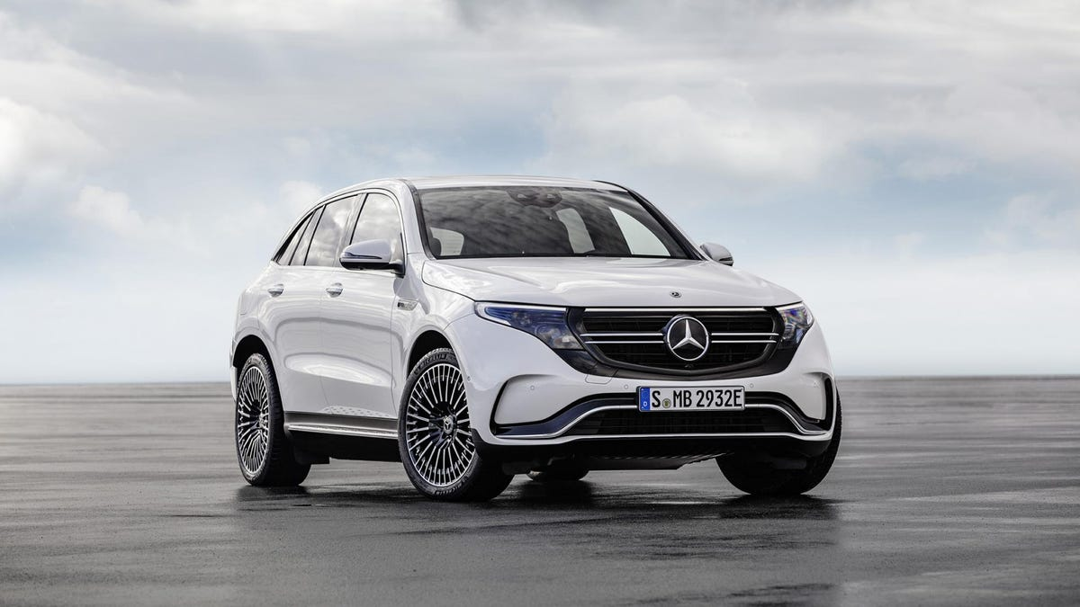 The 2020 Electric Mercedes EQC Doesn't Have a