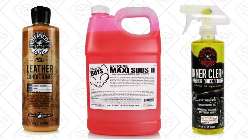 25% off Chemical Guys Products