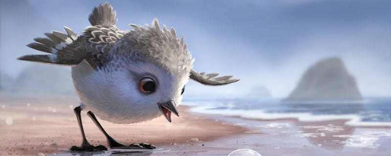 Illustration for article titled Pixar's Newest Star, Piper, Is Beyond Adorable