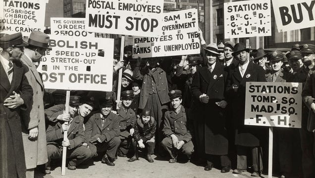 Timeline Of The U.S. Labor Movement