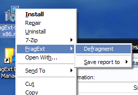 Illustration for article titled FragExt Defrags Individual Files