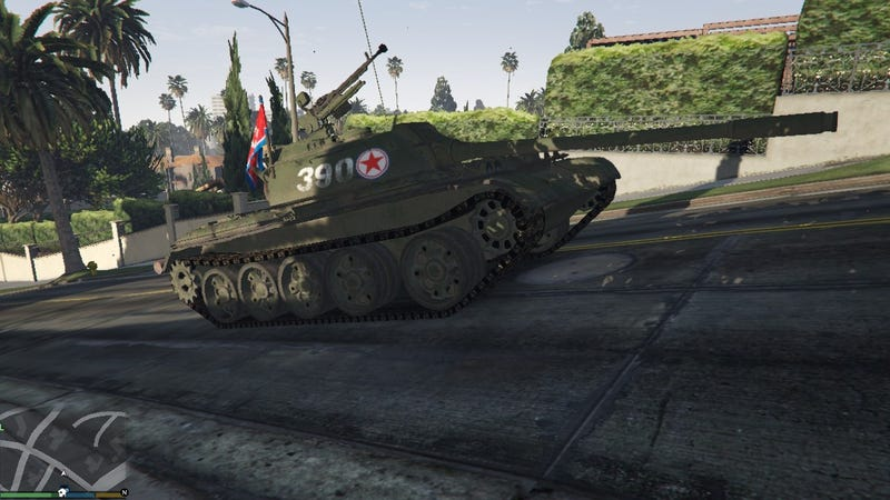 This is a North Korean tank skin created by kandy0205.