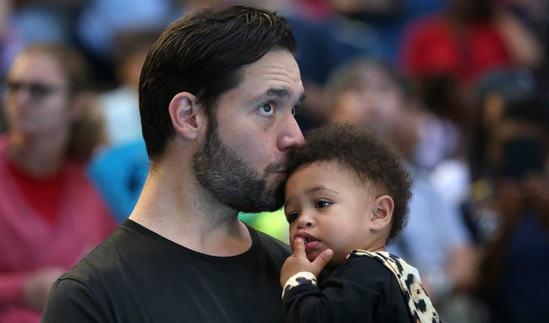Alexis Ohanian and Alexis Olympia Ohanian Jr.