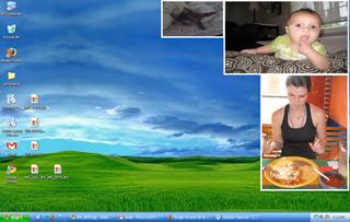 Illustration for article titled Desktop Takeover Embeds Rotating Images on Your Desktop