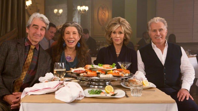 Sam Waterston, Lily Tomlin, Jane Fonda, Martin Sheen (Netflix)