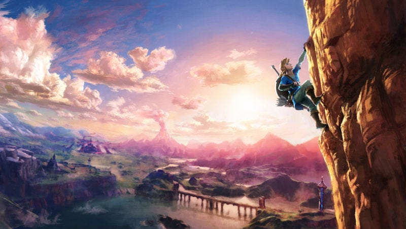 Illustration for article titled The Legend of Zelda: Breath of the Wild estará disponible el mismo día que la Nintendo Switch
