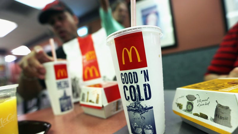 Illustration for article titled McDonald's starts phasing out plastic straws in the U.K.