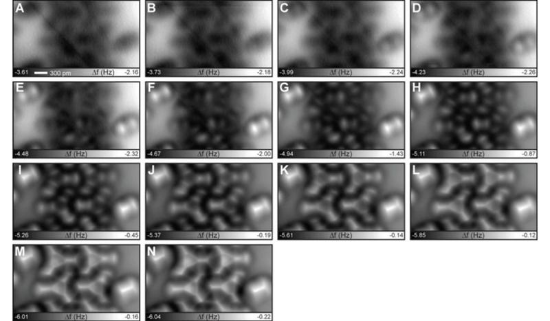 More molecules imaged by the researchers (Kawai et al)