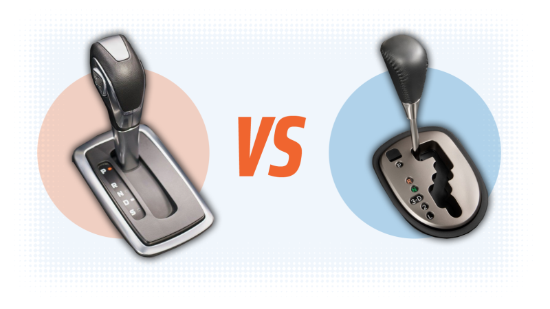 Por qué algunos vehículos automáticos tienen la palanca de cambios recta y otros en zigzag