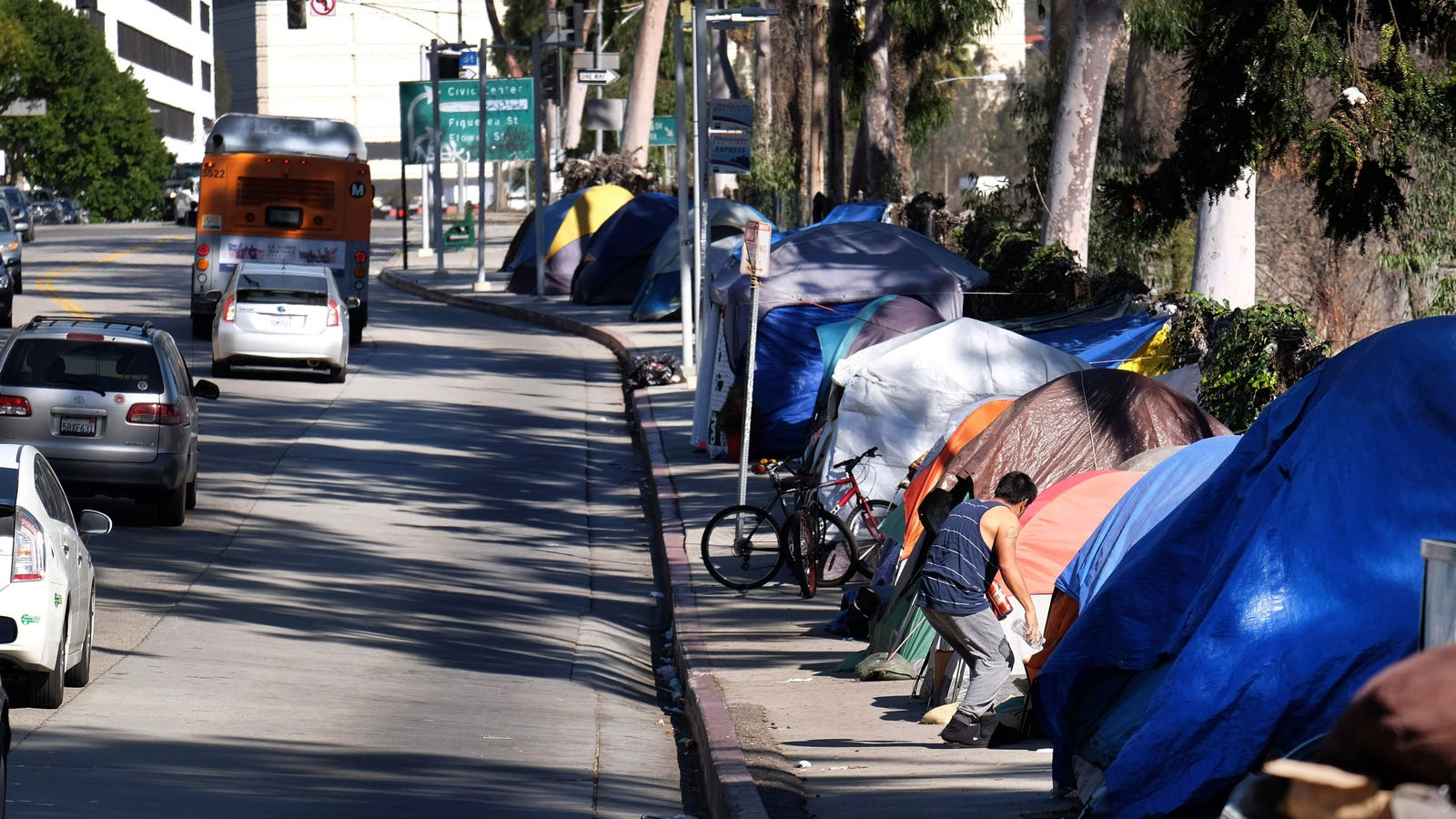 Homelessness Is Booming on the West Coast and I'll Give You One Guess Why