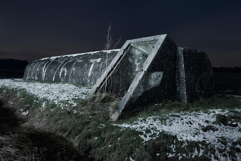 Illustration for article titled Abandoned World War II Bunkers Provide a Haunting Look Into the Past