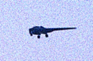 Illustration for article titled UFO Sighted Over Afghanistan Is US Secret Airplane