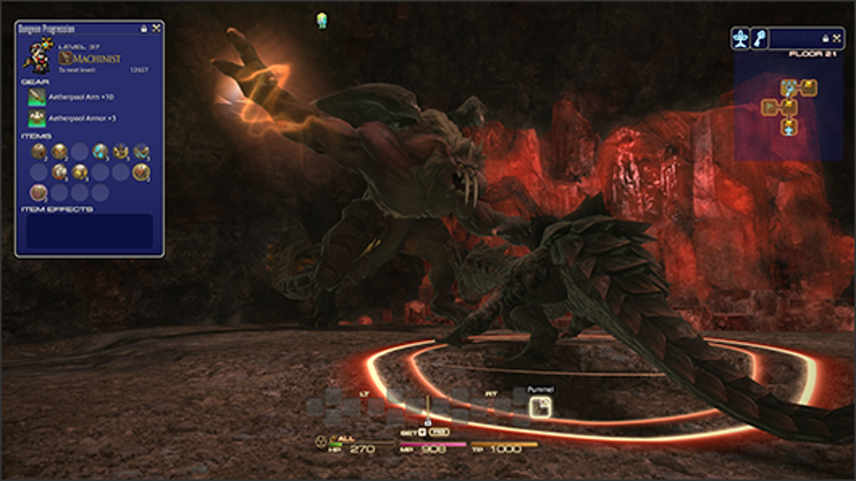 Thoughts on Final Fantasy 14 Content-Palace of the Dead