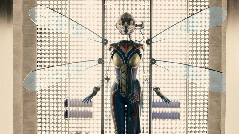 The Wasp costume seen in Ant-Man