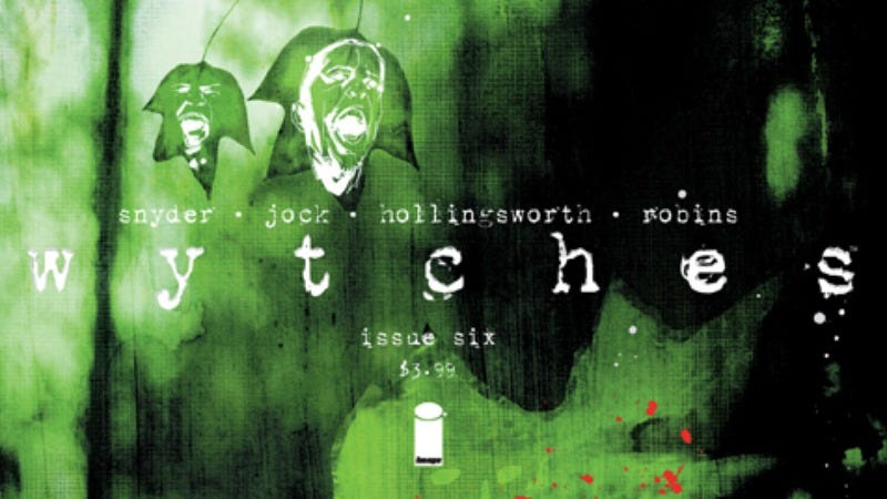Illustration for article titled Exclusive Image preview: Wytches' first arc comes to a terrifying conclusion