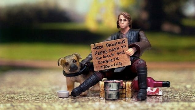 Toys For The Homeless : The force be with you if can help these homeless star