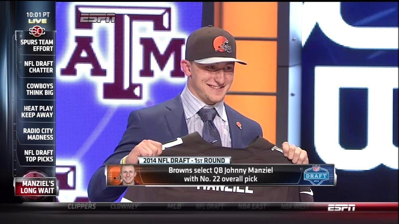 Illustration for article titled ESPN's Johnny Manziel Obsession, Visualized