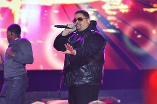 Legendary rapper Heavy D will be laid to rest today. (Getty)