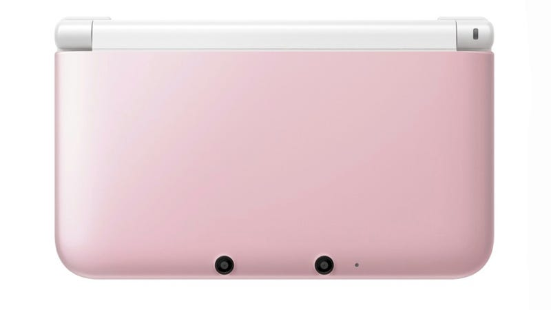 Illustration for article titled Nintendo 3DS XL Going All Pink (and White)