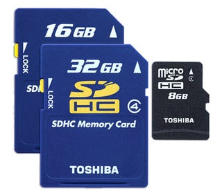 Illustration for article titled The World's New Fastest SDHC Memory Card