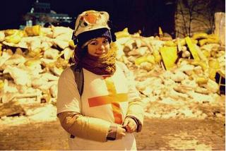 Illustration for article titled Élek! – üzente a tegnap nyakon lőtt ukrán vöröskeresztes