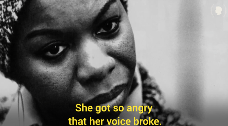 Nina Simone (Peabody Spotlight screenshot)