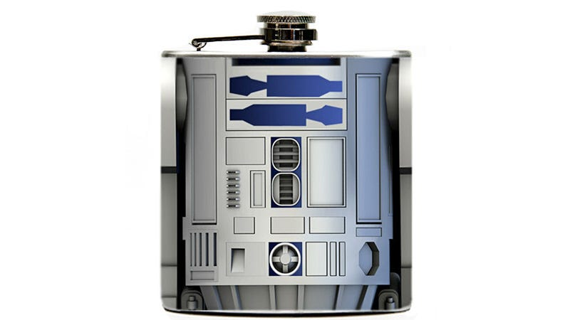 Illustration for article titled R2D2 Now Stashes the Most Useful Weapon of All: Booze