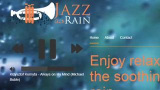 Illustration for article titled Jazz And Rain Plays the Most Soothing of Sounds While You Work