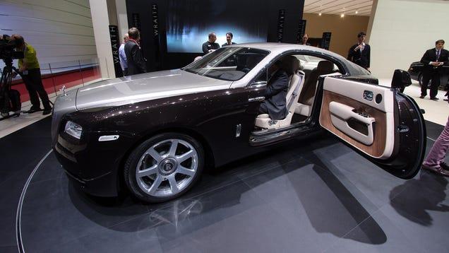The Rolls Royce Wraith Has Massive Suicide Doors