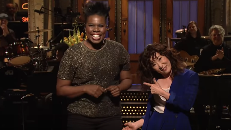 Leslie Jones, Sandra Oh