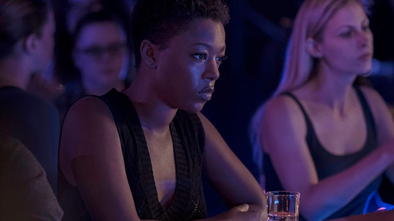 Samira Wiley as Moira in The Handmaid's Tale.