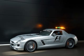 Illustration for article titled Mercedes SLS AMG F1 Safety Car: Press Photos