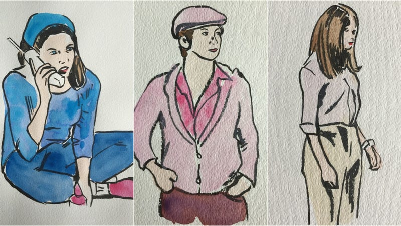 Illustration for article titled Skinny Scarves and Peasant Tops: The Gilmore Girls Wore Truly Godawful Clothes