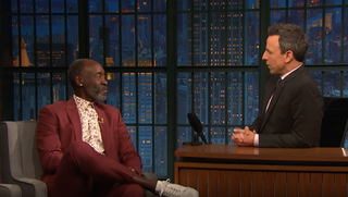 Don Cheadle, Seth Meyers