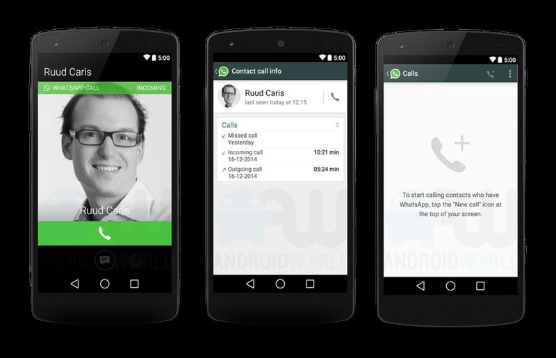 Illustration for article titled La función de llamada en WhatsApp se podría parecer mucho a esto