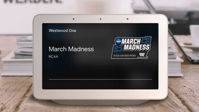 Listen to All March Madness Games Live With Google Home and Google Assistant