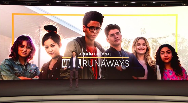 Marvel releases first cast image of 'Runaways' TV series