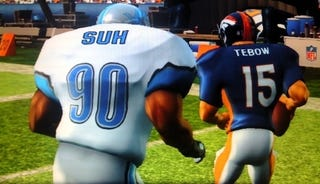 Illustration for article titled Your First Chance to Play With Tim Tebow is in Madden NFL Arcade