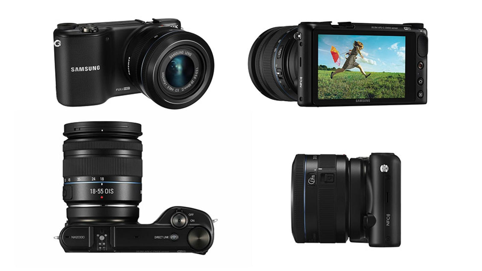Samsung NX2000: A Fancy Camera That's Dumb Like a Smartphone