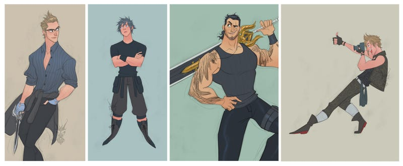Illustration for article titled Final Fantasy XV, Now 30% Dreamier