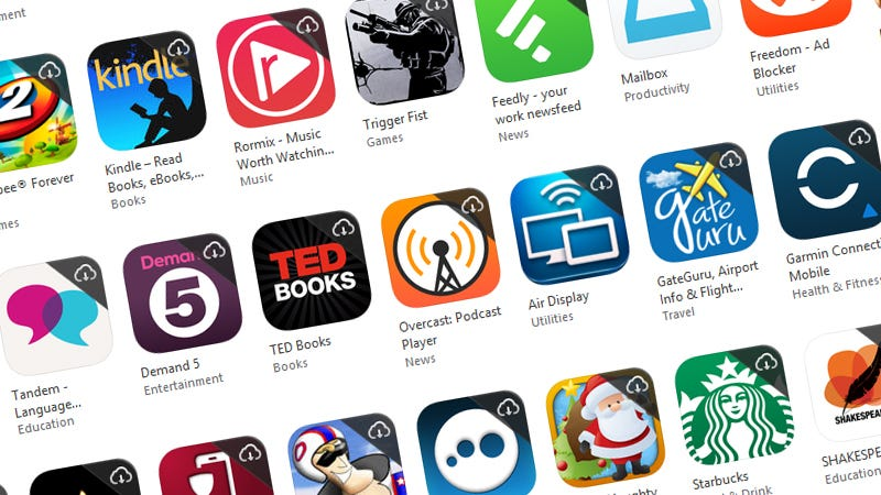 Illustration for article titled View Every App You've Ever Installed on Your Smartphone