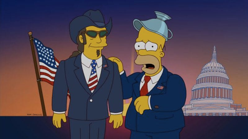 """Illustration for article titled The Simpsons: """"Politically Inept, With Homer Simpson"""""""