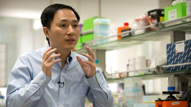 Illustration for article titled El científico chino que creódos gemelos humanos modificados genéticamente podría enfrentarse a la pena de muerte