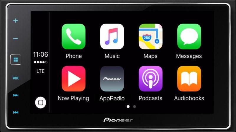 Pioneer CarPlay-Compatible Head Unit, $350