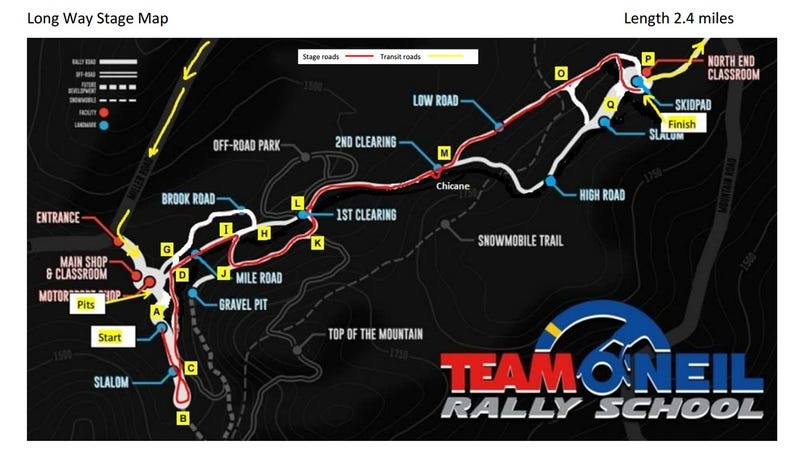 Illustration for article titled I'm volunteering at the Team O'neill Rally Sprint tomorrow.