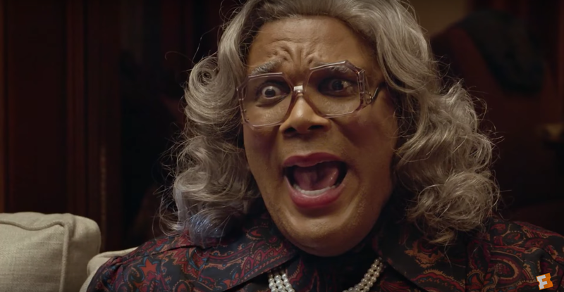 Tyler Perry as MadeaLionsgate via Youtube screenshot