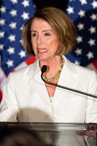 Illustration for article titled Nancy Pelosi Elected House Minority Leader