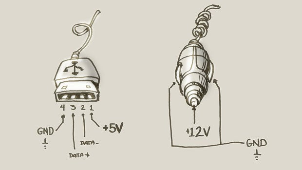 12v cigarette lighter wiring diagram wikishare how to make a quick and dirty emergency usbtocigarette lighter asfbconference2016 Choice Image